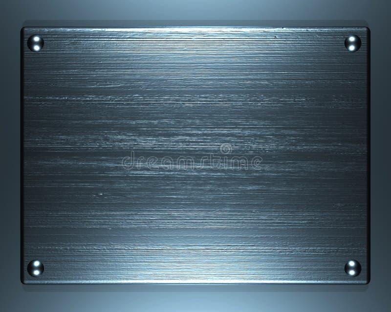 Brushed Steel stock image