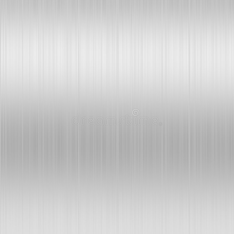 Brushed Steel background royalty free illustration