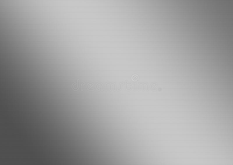 Brushed steel background texture royalty free illustration