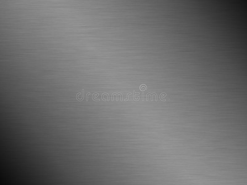 Brushed steel metal texture background stock photos