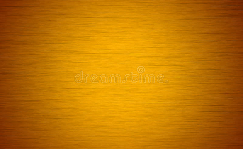 Brushed yellow texture royalty free stock photos