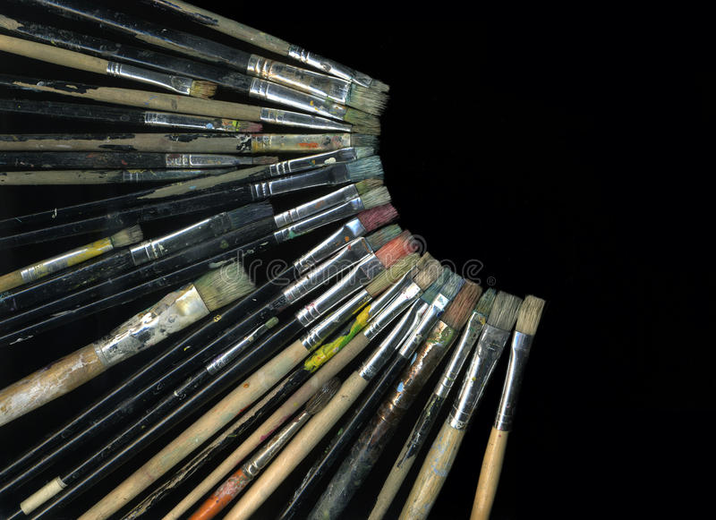 Download Brushes stock image. Image of brush, banner, painter - 15468305