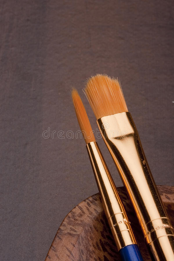 Download Brushes stock photo. Image of fine, paint, workshop, synthetics - 18593806