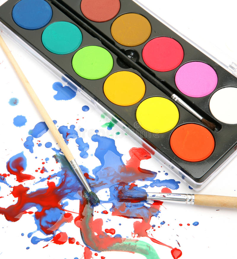 Free Brushes And Paints Stock Photos - 37109473