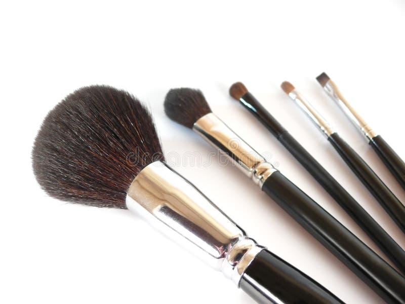 brushes smink arkivfoto
