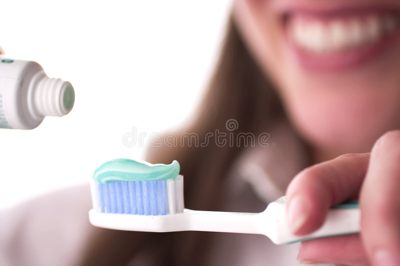 Brushing. Dental Care Concept: Brushing teeth