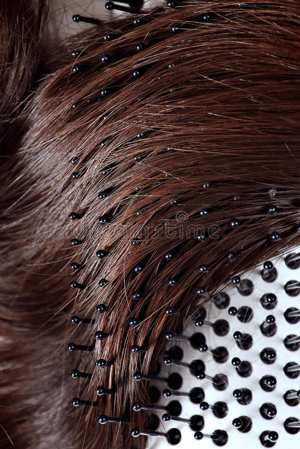 Download Brushing hair stock image. Image of healthy, brunette - 13865091
