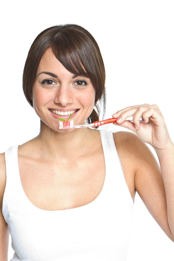 Download Brushing teeth stock photo. Image of care, lifestyle - 17125182
