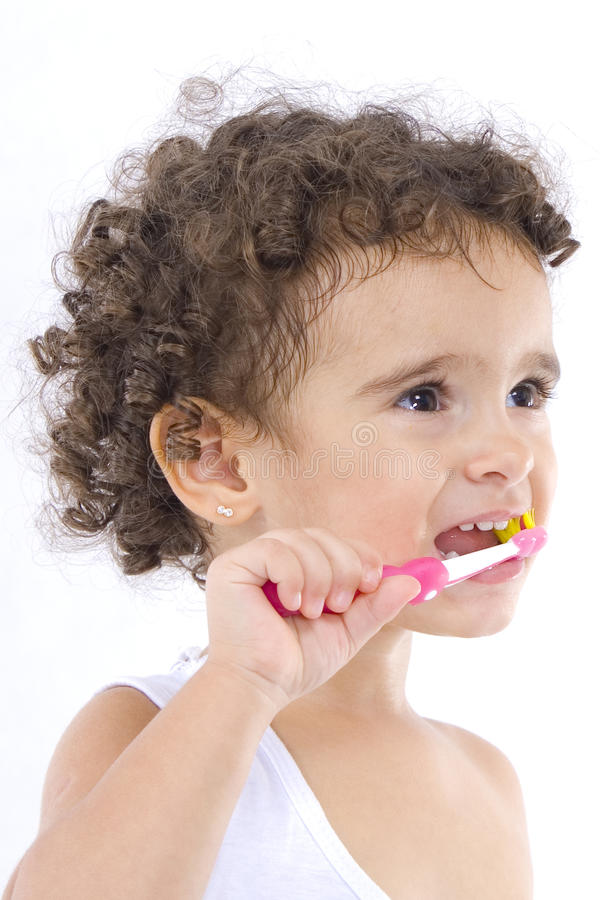 Download Brushing the Teeth stock photo. Image of dentist, prevention - 9614294