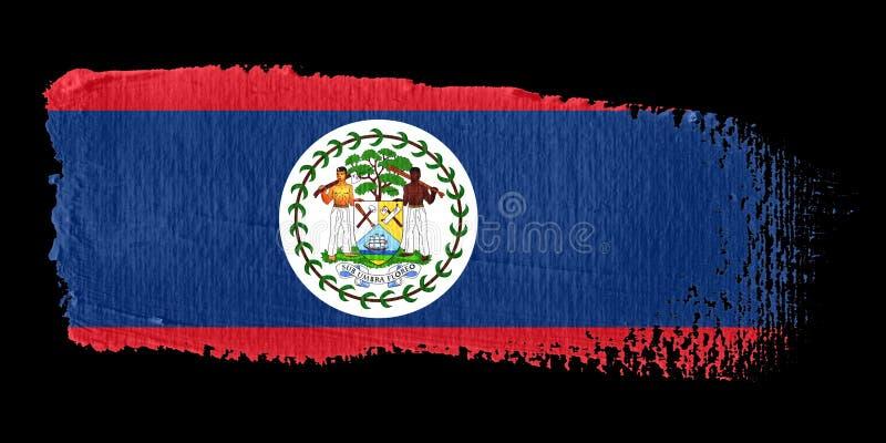 Download Brushstroke Flag Belize stock illustration. Image of color - 6933639