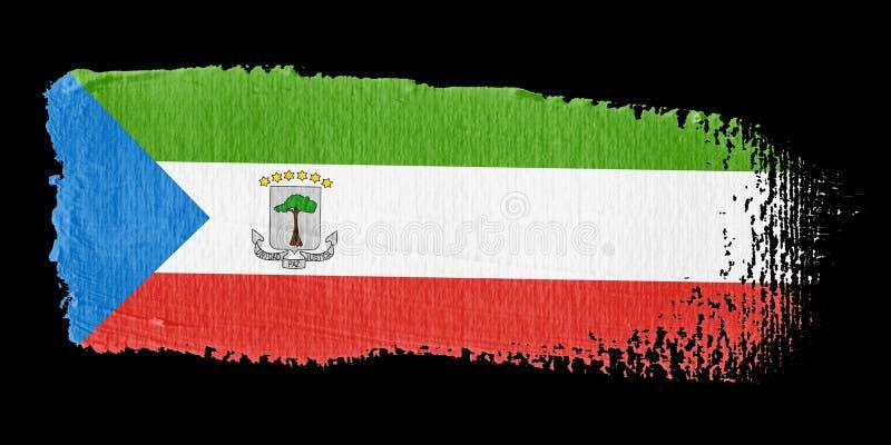 Download Brushstroke Flag Guinea stock illustration. Illustration of artistic - 6990167