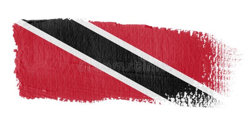 Download Brushstroke Flag Trinidad And Tobago Stock Illustration - Image: 4390407