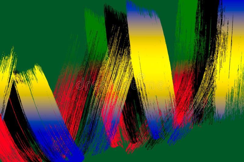 brushstrokes stockbild