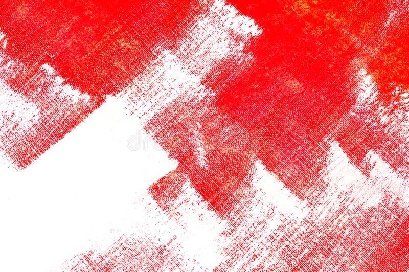 brushstrokes czerwoni obraz royalty free