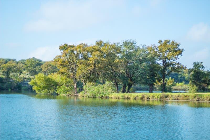 Brushy Zatoczka jezioro zdjęcia stock