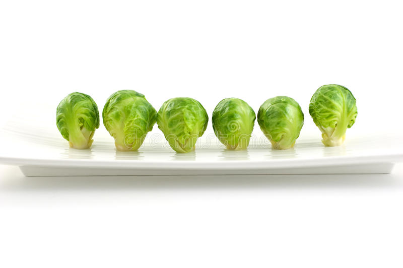 Download Brussel Sprouts stock image. Image of green, blanched - 21710447