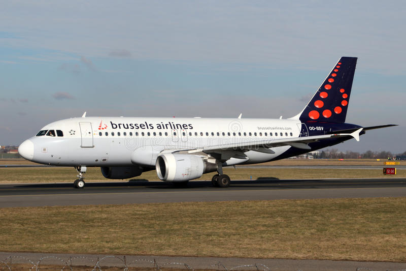 Brussels Airlines images stock