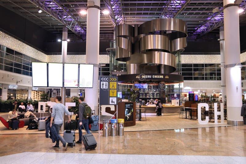 Brussels Airport, Belgium stock photos