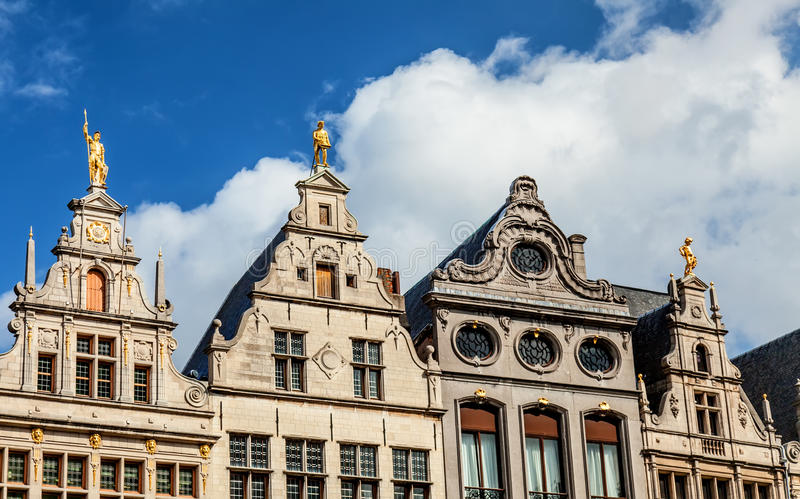 Brussels architecture royalty free stock images