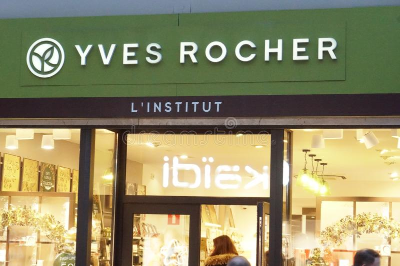 Yves Rocher store stock photo