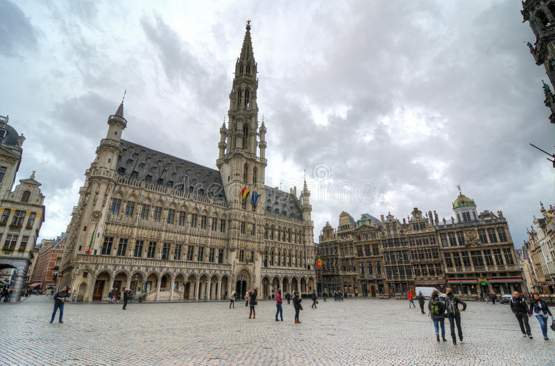 Download Brussels editorial stock image. Image of brussels, main - 35004739