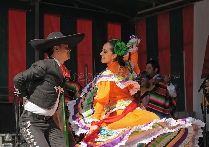 Download Mexican folkloric ballet editorial stock image. Image of belgium - 30276464