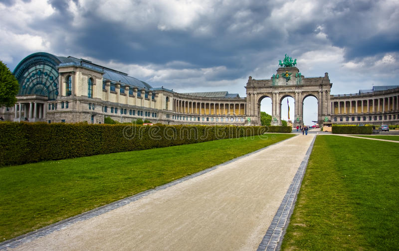 Download Brussels. Famous Triumphal Arch Stock Photo - Image: 15740550
