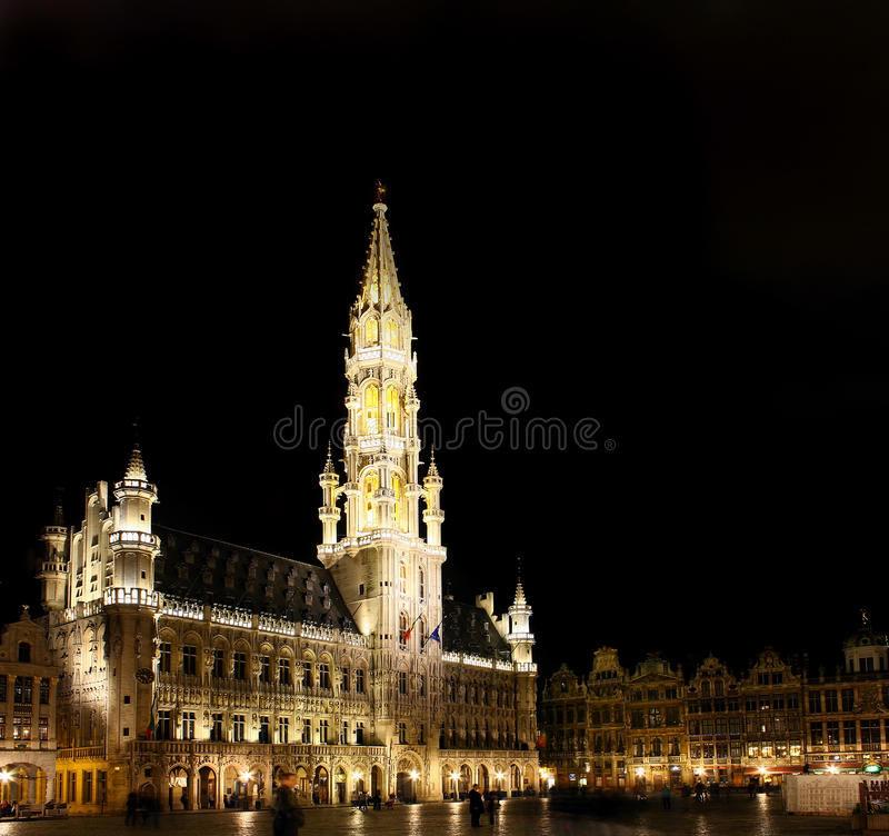 Brussels Grand Place stock photo
