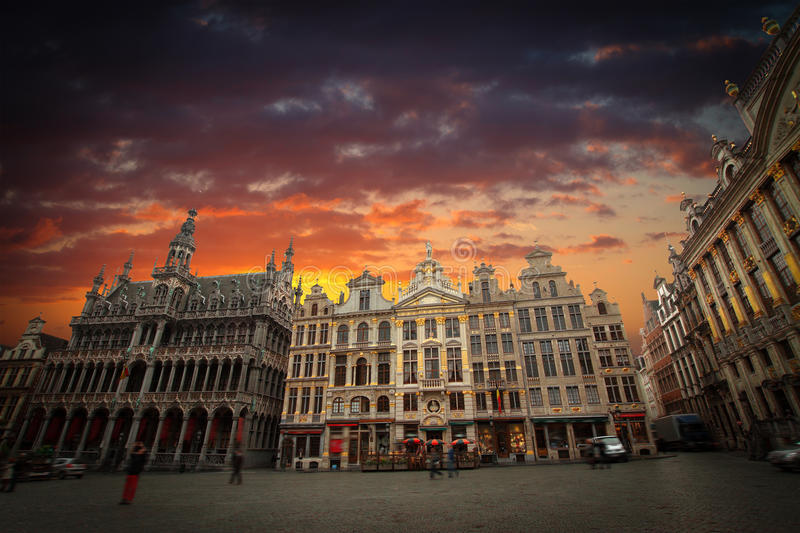 Brussels Grand Place. royalty free stock photography