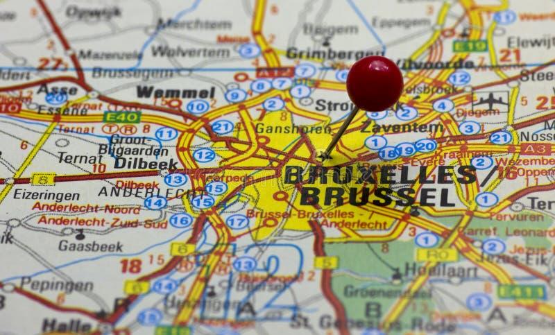 Road Map Brussels Belgium Stock Photos - Download 15 Royalty ...