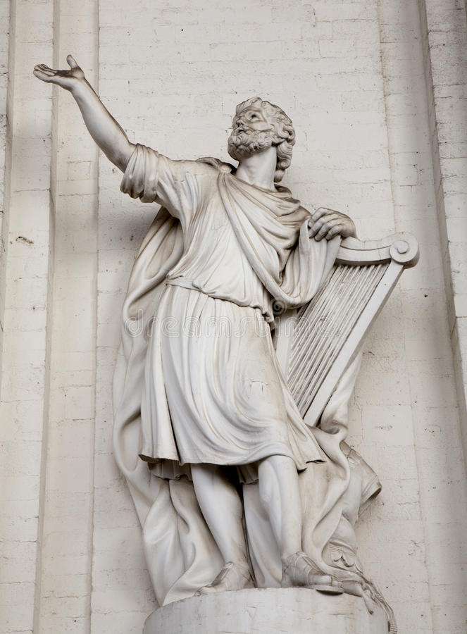 Download Brussels - Statue Of King David Stock Image - Image: 26837871