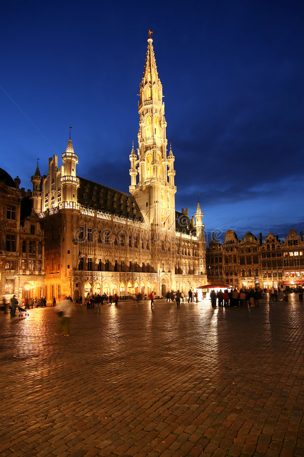 Free Brussels Town Hall Royalty Free Stock Image - 1848706