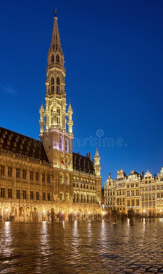 Brussels Town Hall stock images