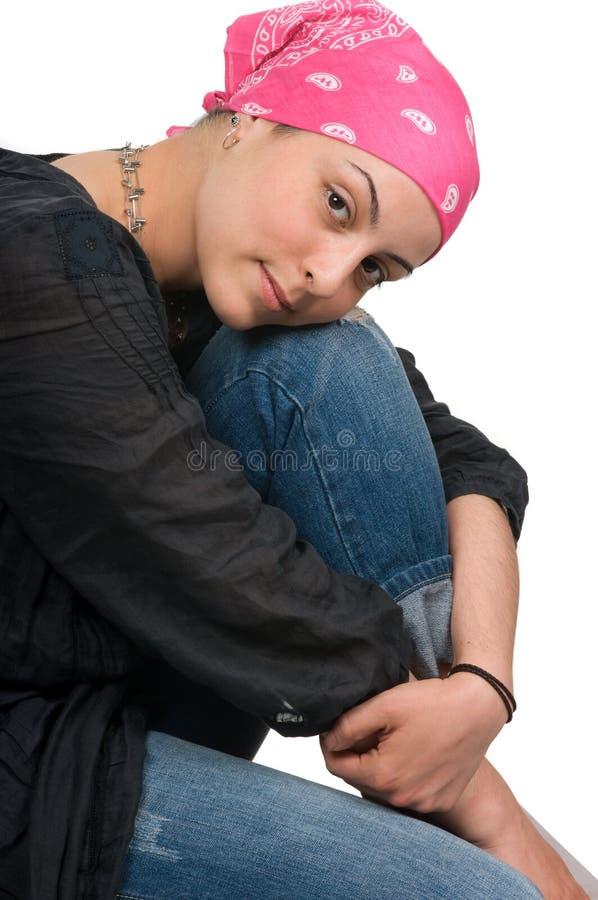 Brustkrebs-Überlebender stockbilder