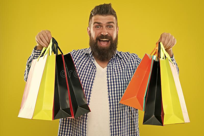 Brutal caucasian hipster with moustache. Mature hipster with beard. Fashion man with beard. Bearded man. Male barber. Care. happy shopping. happy man with royalty free stock image