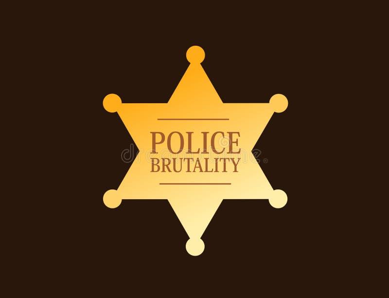 Brutalidad policial libre illustration