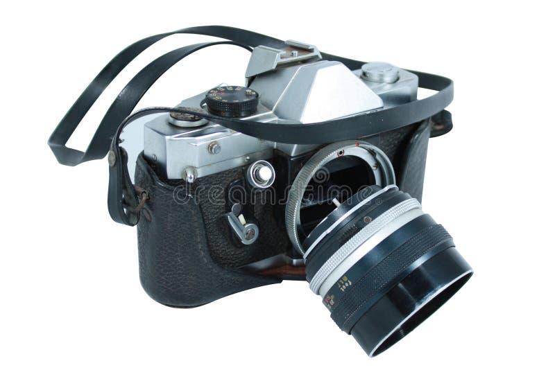 Bruten kamera royaltyfri foto