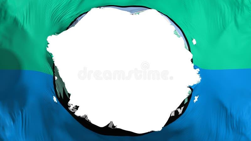 Bruten Salt Lake City huvudflagga vektor illustrationer