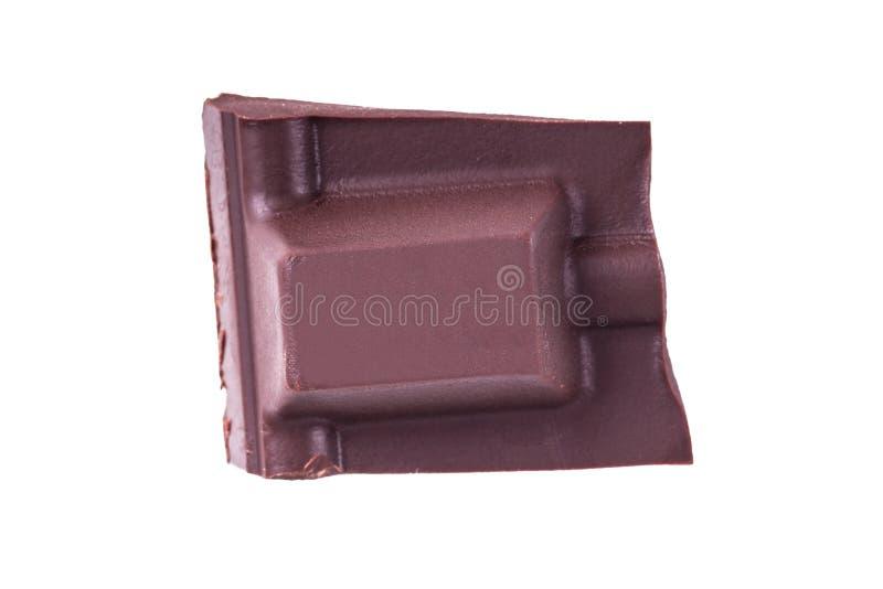 Brutet mjölka stycket för chokladstången royaltyfria bilder