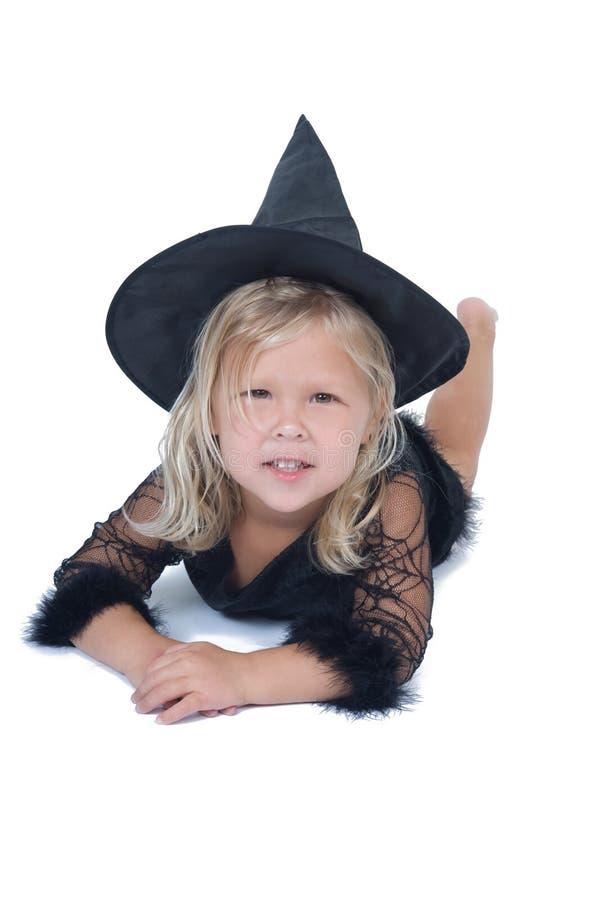 Bruxa adorável fotos de stock