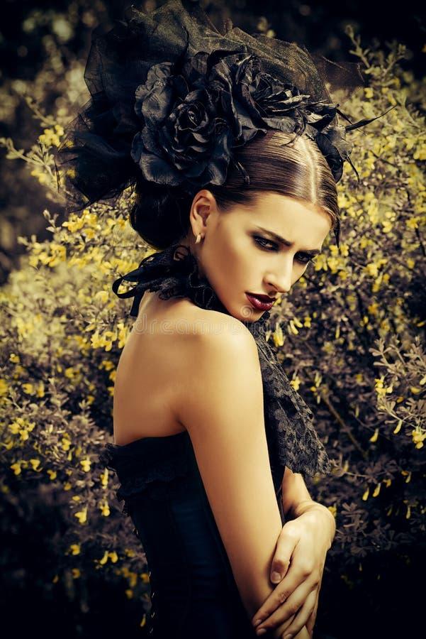 Bruxa bonita fotografia de stock royalty free