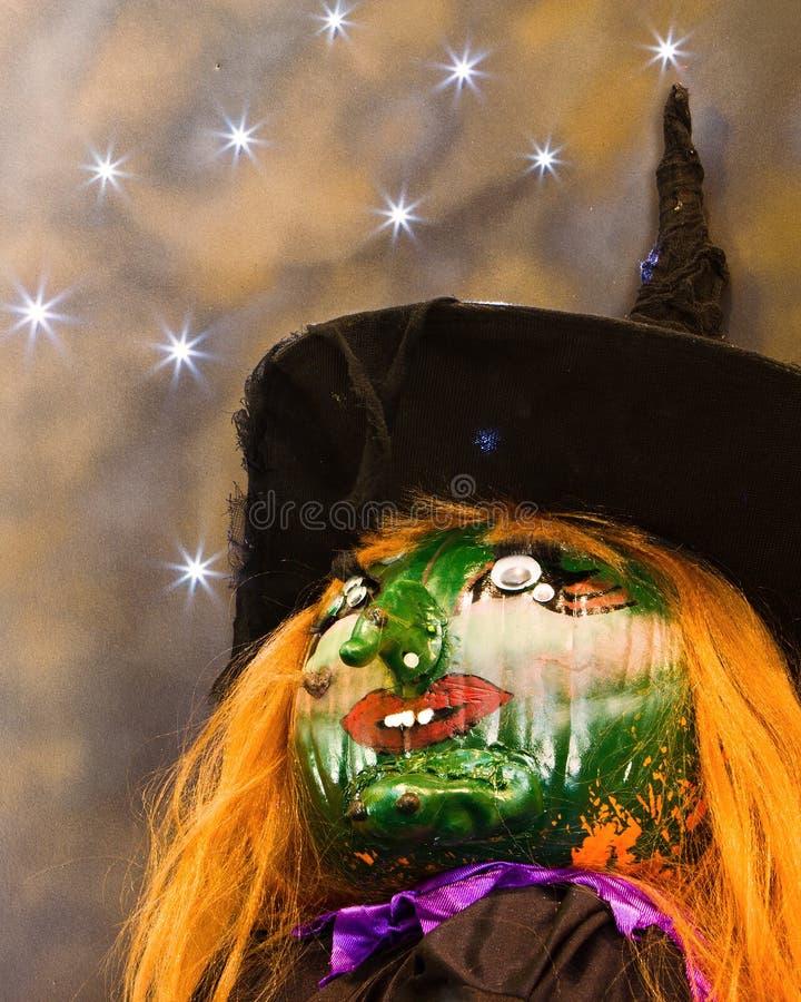 Bruxa de Dia das Bruxas imagens de stock
