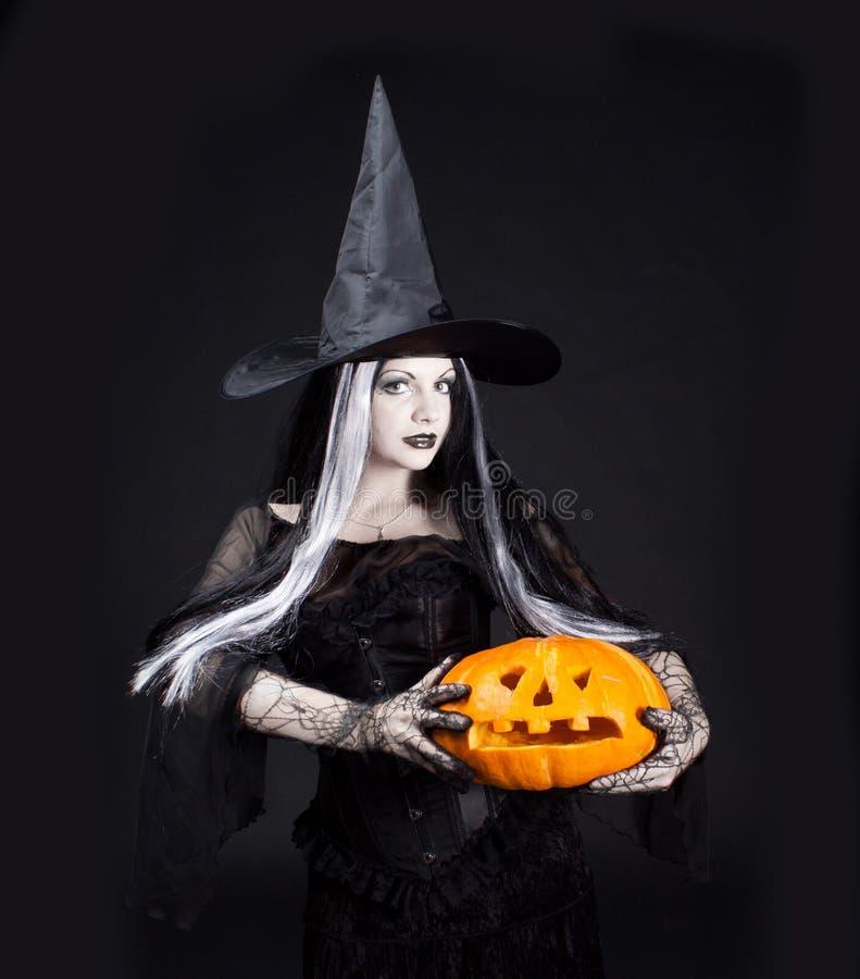 Bruxa de Halloween fotos de stock