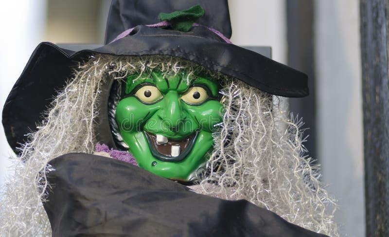 Bruxa de Halloween fotos de stock royalty free