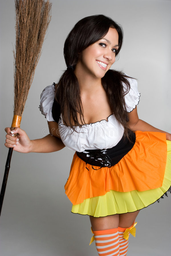 Bruxa de Halloween imagens de stock royalty free