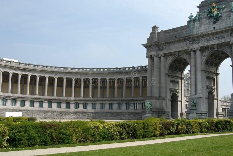 Bruxelas: Parc du Cinquantenaire fotos de stock