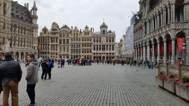 Bruxelles avant attaque image libre de droits