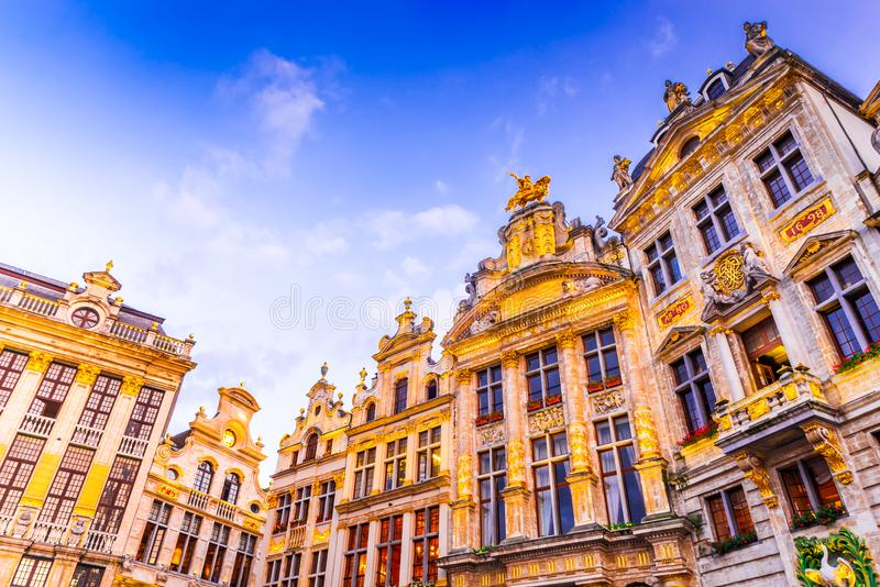 Bruxelles, Belgia obraz stock