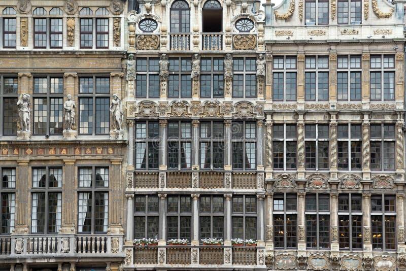 Bruxelles du centre photographie stock
