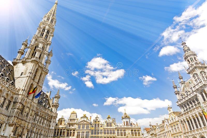 Bruxelles i Belgien arkivbild
